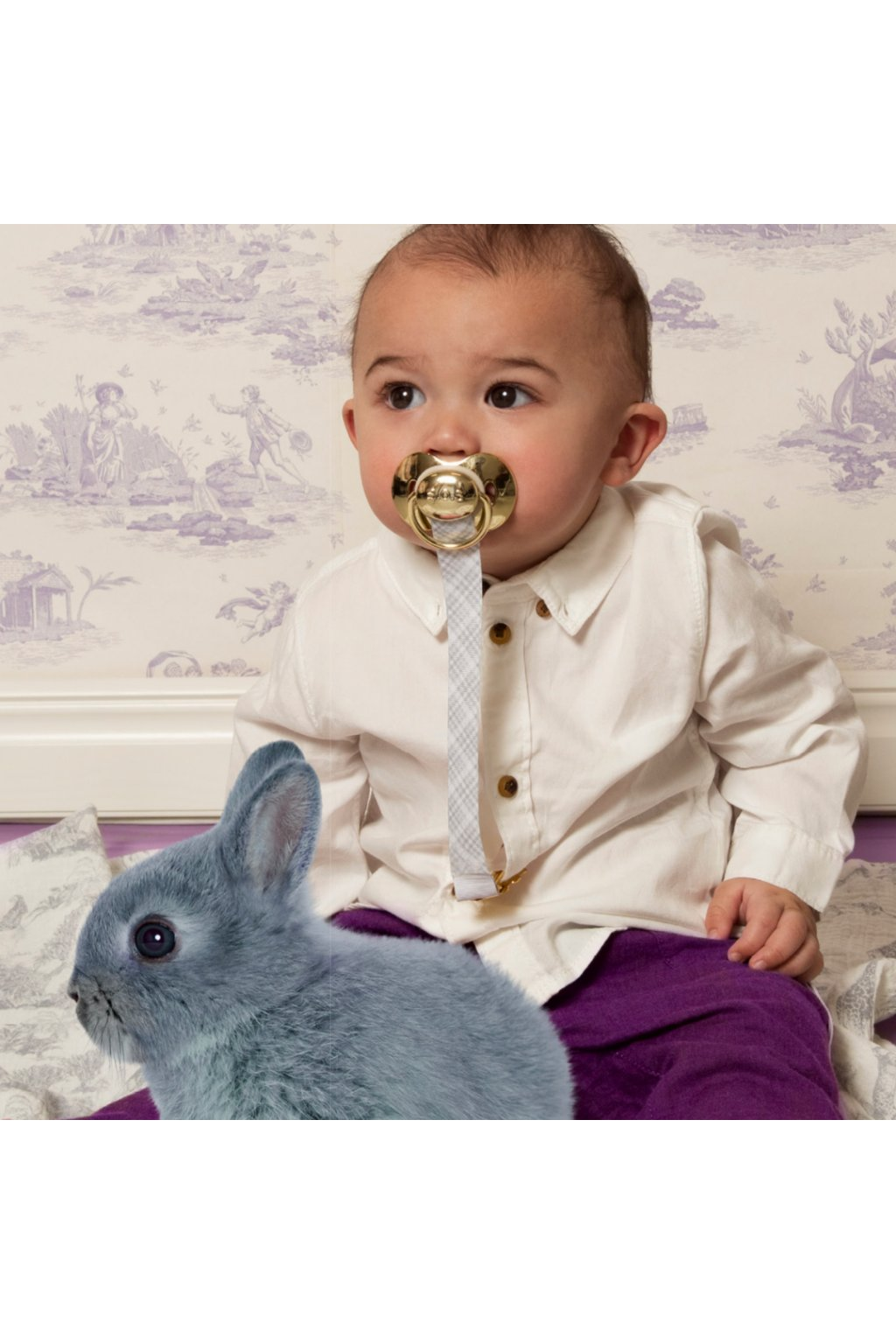 Bib Pink golden collection
