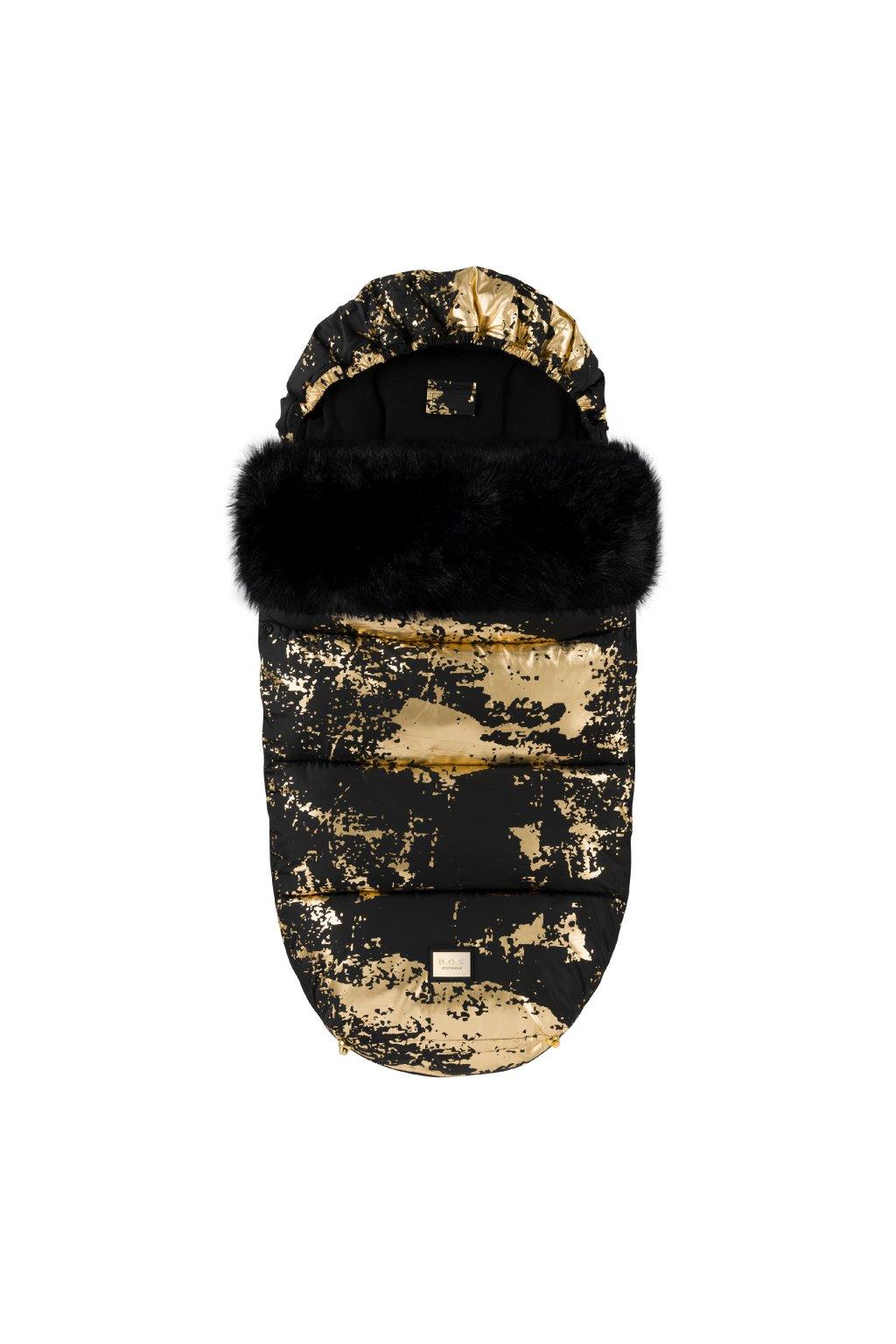 Footmuff Black Golden