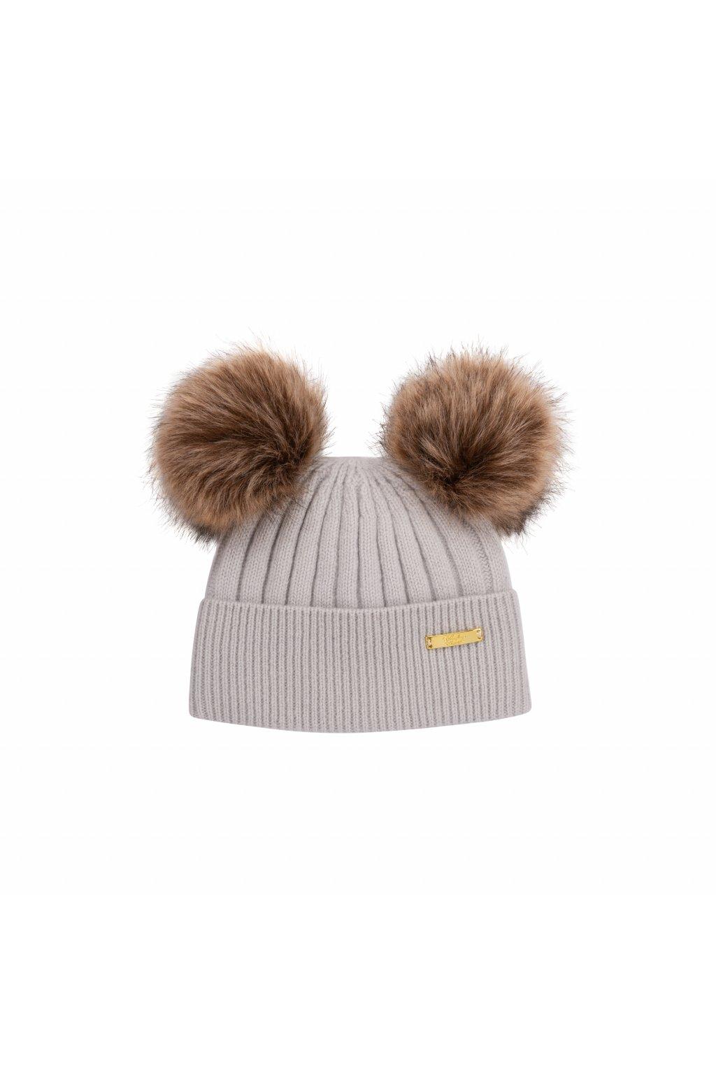 Winter hat Grey 1 2 years