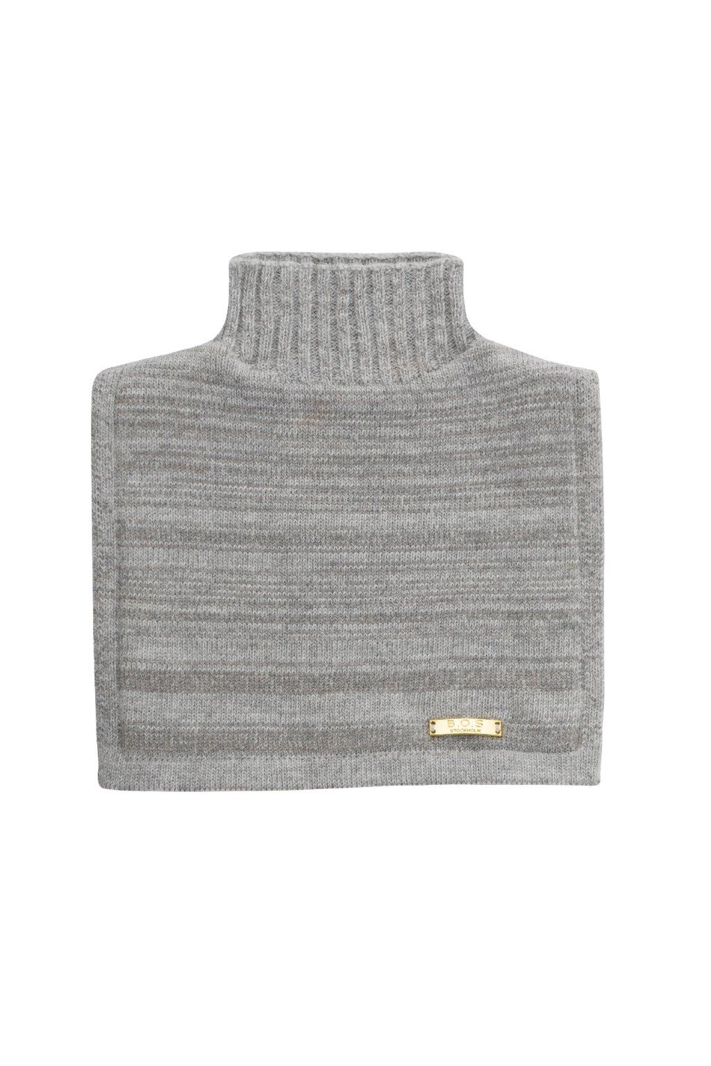Neckwarmer, grey