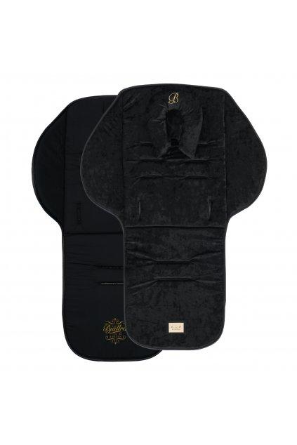 Seatliner black velvet