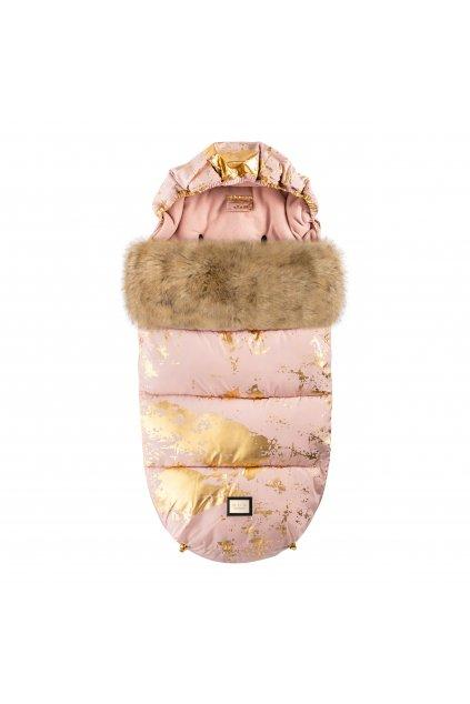 Footmuff Pink Golden