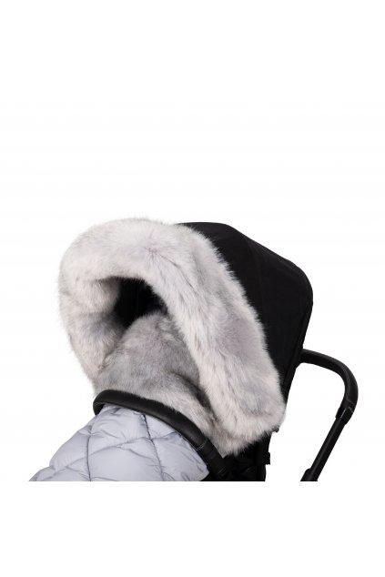 Fur Collar Grey
