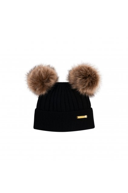 Winter hat Black 1 2 years