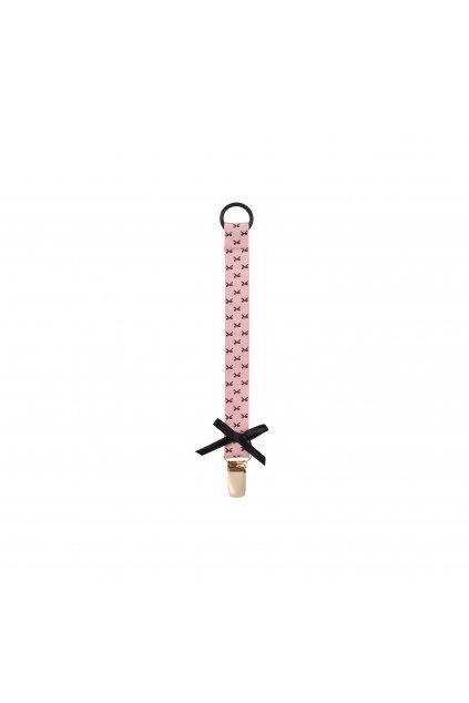 Pacifier clip Bows