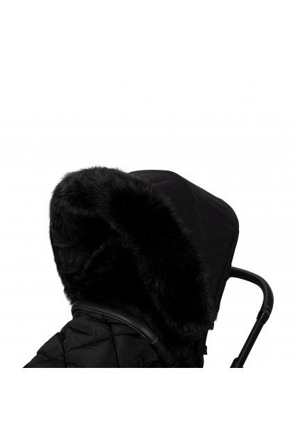 Fur Collar Black
