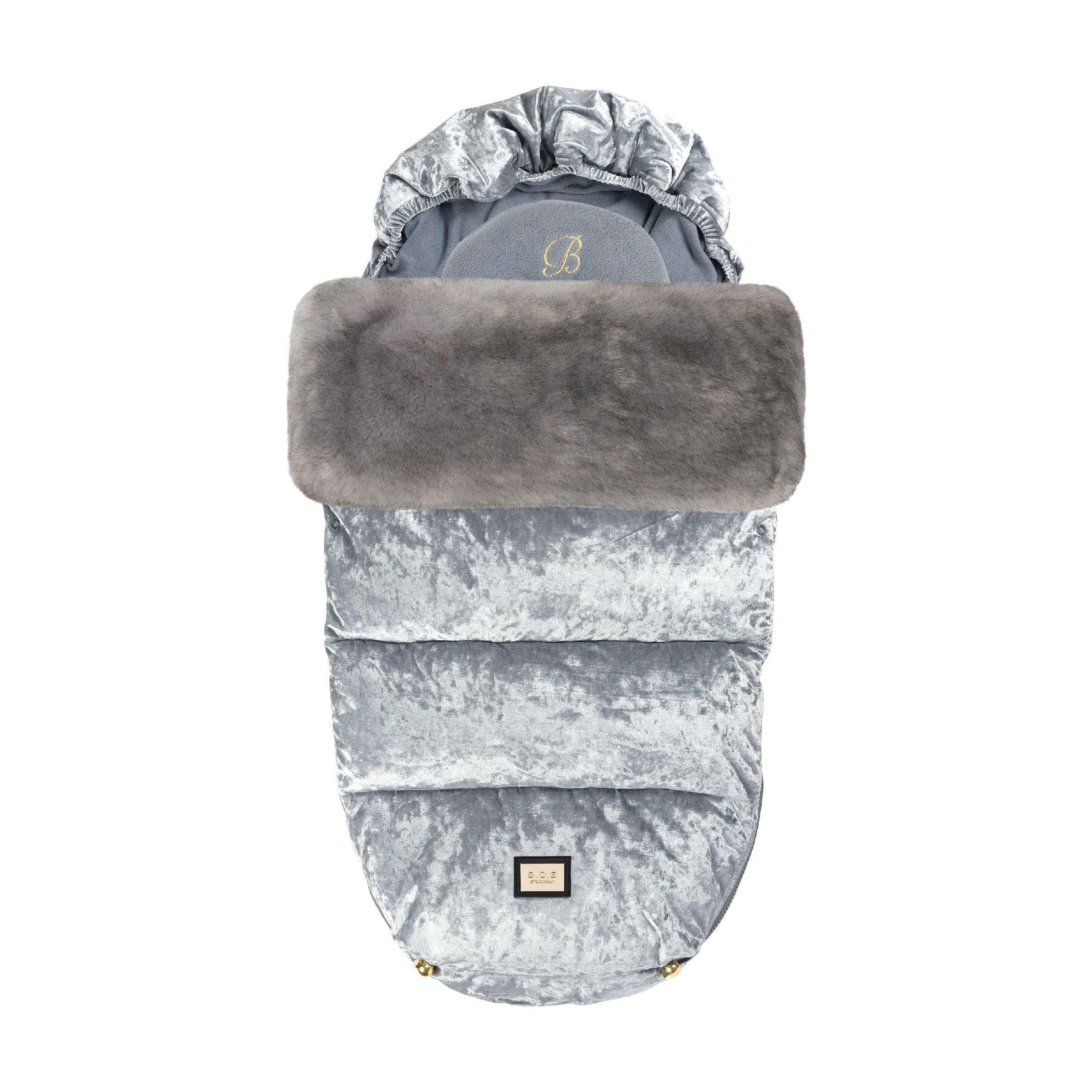 Fusak Velvet Grey