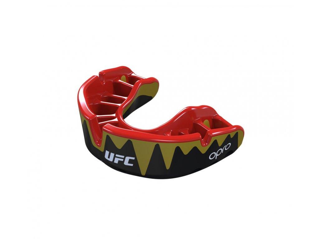 OPRO Platinum UFC, černá/červená/zlatá1