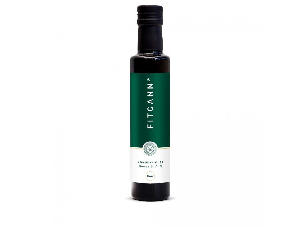 Konopný olej FITCANN