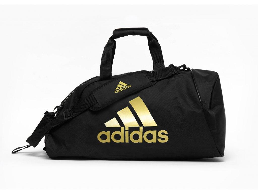 Sportovní taška adidas 2in1 Bag Polyester combat sports zlatá 1