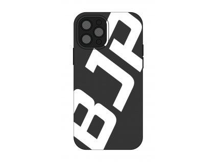 Černý kryt na mobil - velké bílé logo BJP