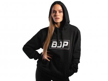 damská mikina hoodie cerna1