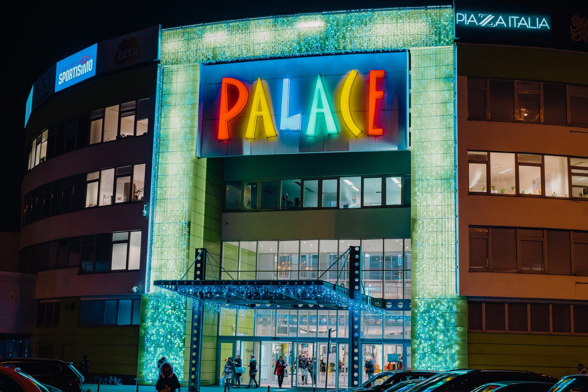Shopping Palace Bratislava 2019