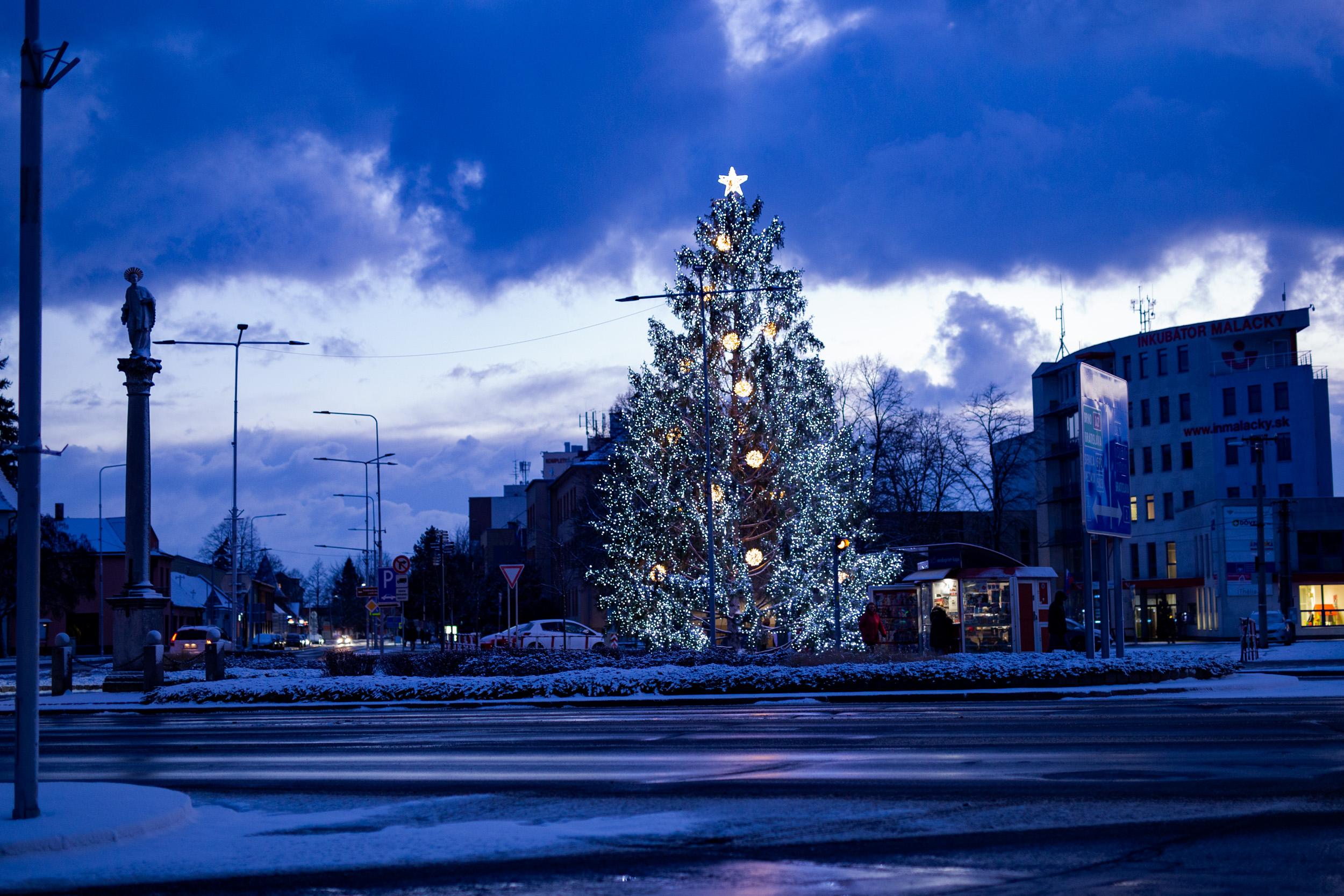 Dominanta vianočných Malaciek 2019