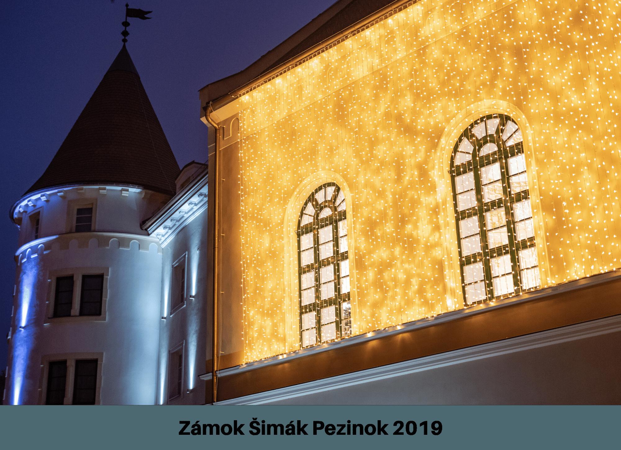 Zámok Pezinok 2019