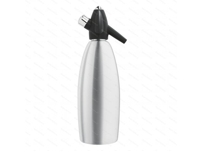 Sifonová láhev SODA SIPHON 1 l, stříbrná