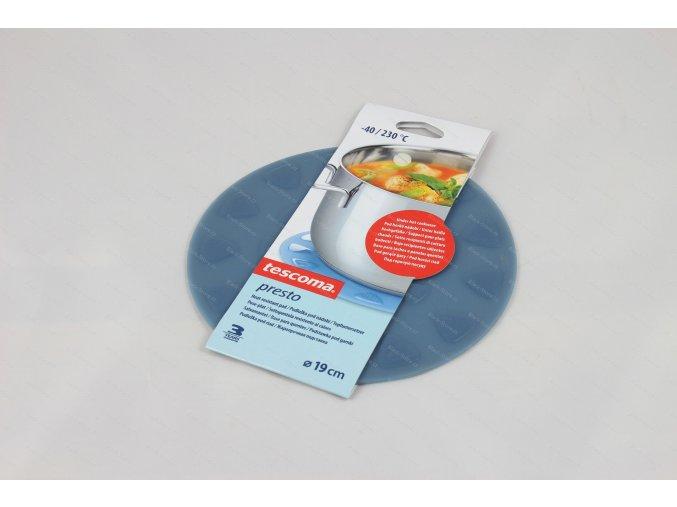 Podložka pod nádobí PRESTO ø 19 cm, modrá