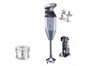 Mixér DeLuxe M160, stříbrný