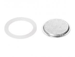 Silikonové těsnění 2ks a filtr PALOMA, 1 šálek