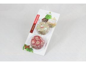 Cukrářské košíčky DELÍCIA ø 6 cm, 60 ks, vánoční