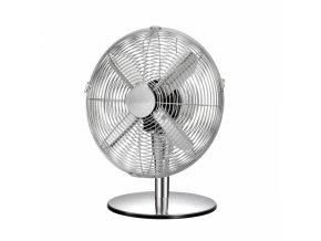 Stolní ventilátor FANCY HOME o 30 cm, chrom