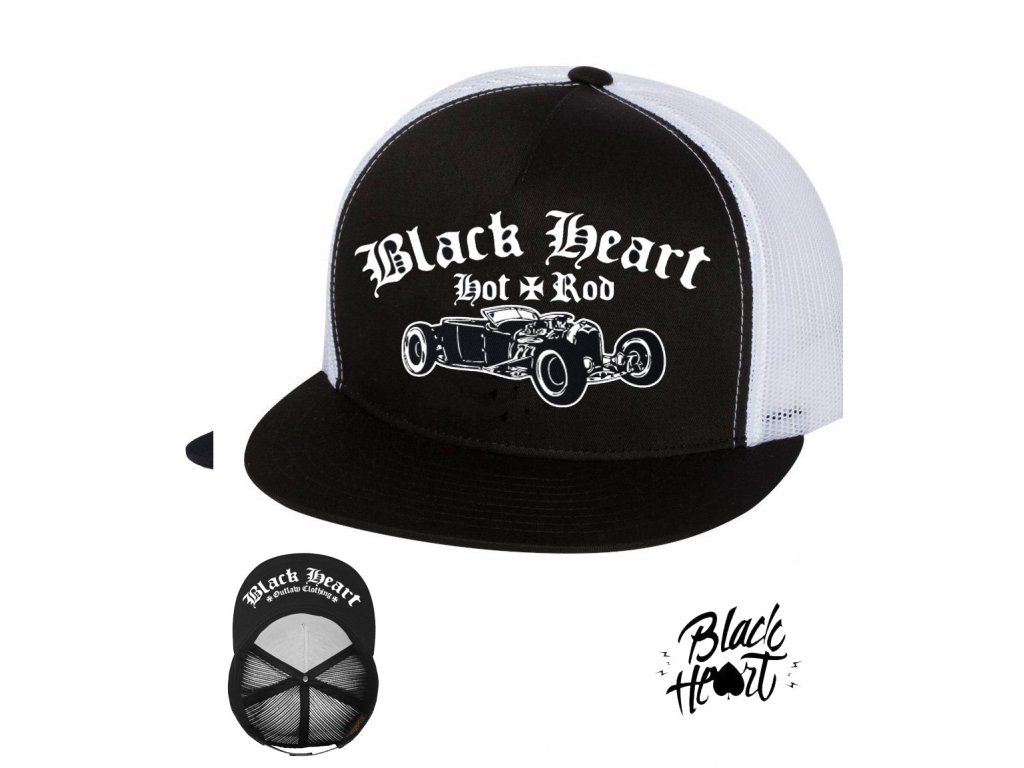 kšiltovka black heart so cal