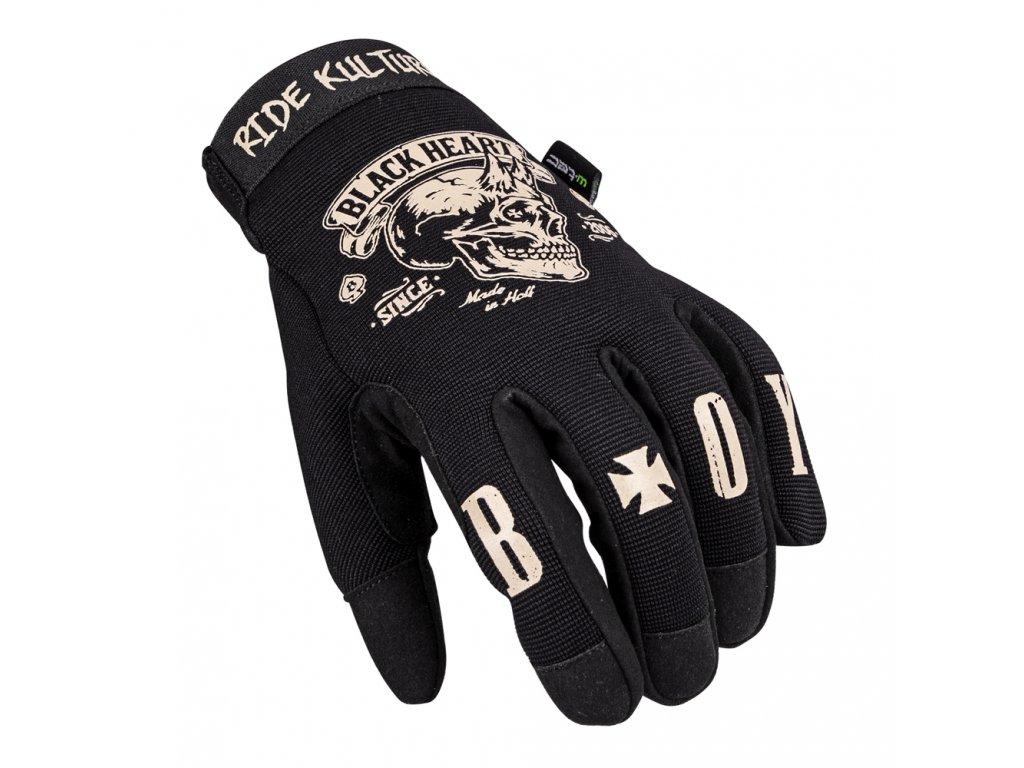 Moto rukavice W TEC Black Heart Rioter 06
