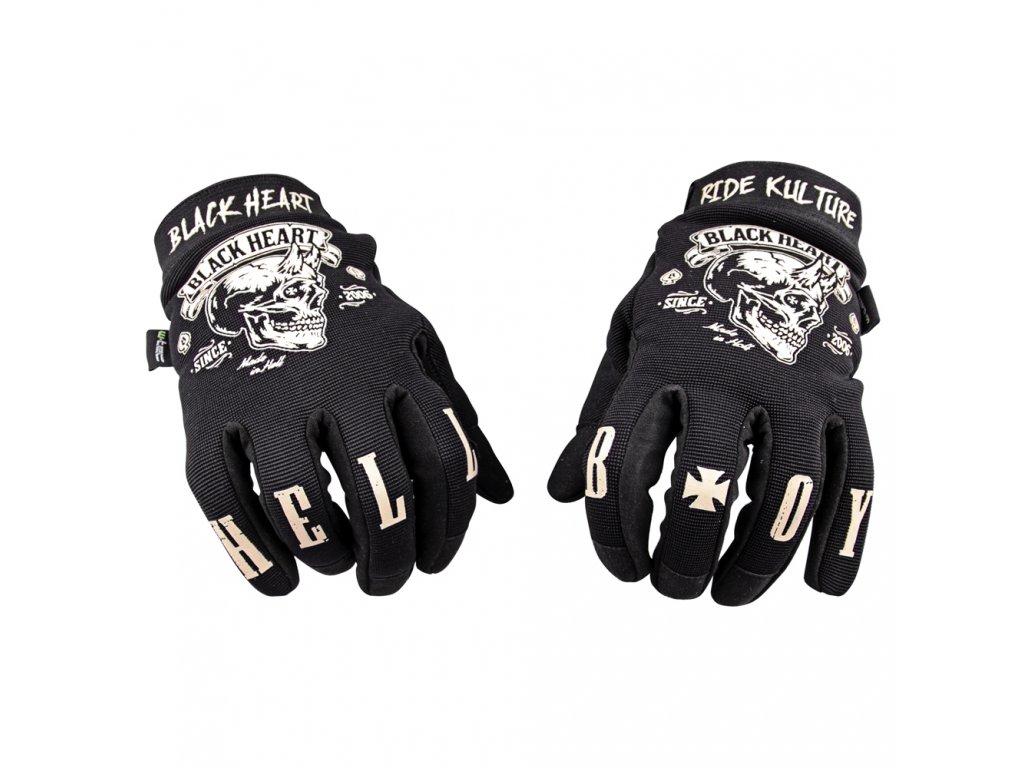 81f11baf4 Moto rukavice W-TEC Black Heart Rioter - BLACK HEART BLACK HEART hot ...
