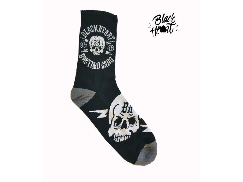 ponožky black heart