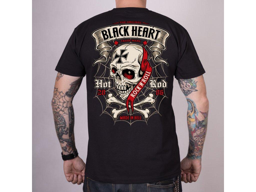 Triko BLACK HEART CRUSTY DEMONS2