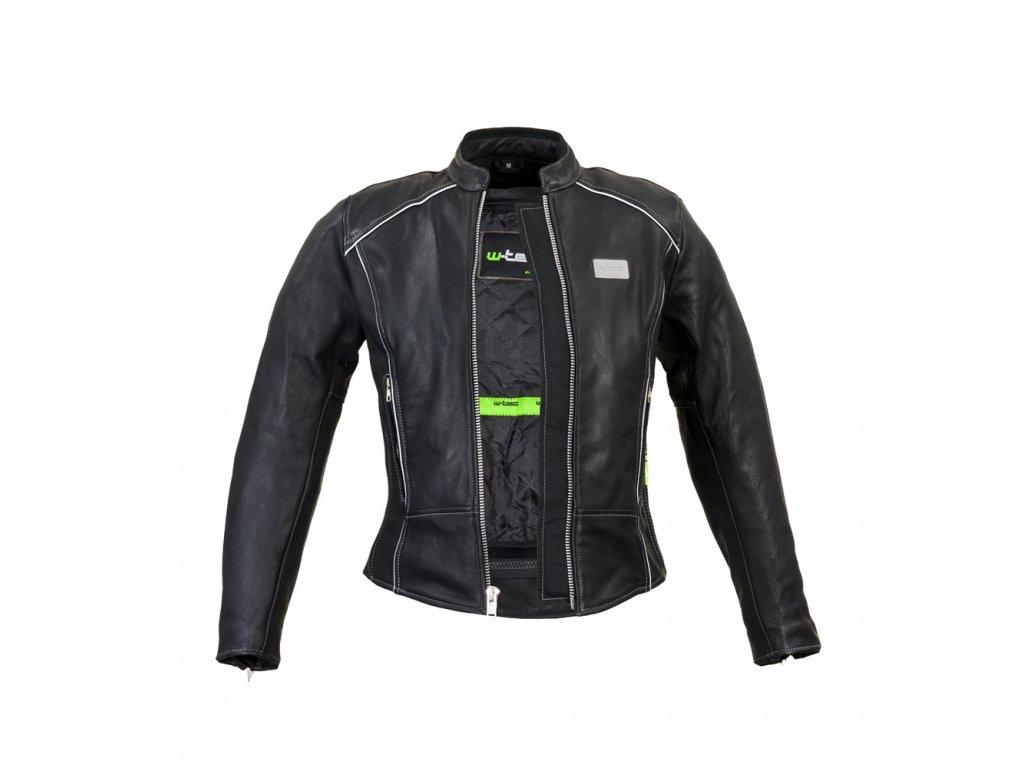 Dámská kožená moto bunda W TEC Hagora (1)
