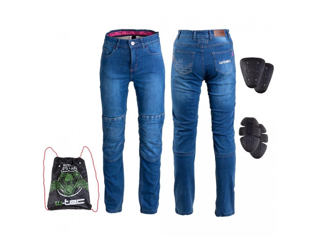 Dámské moto jeansy W TEC GoralCE