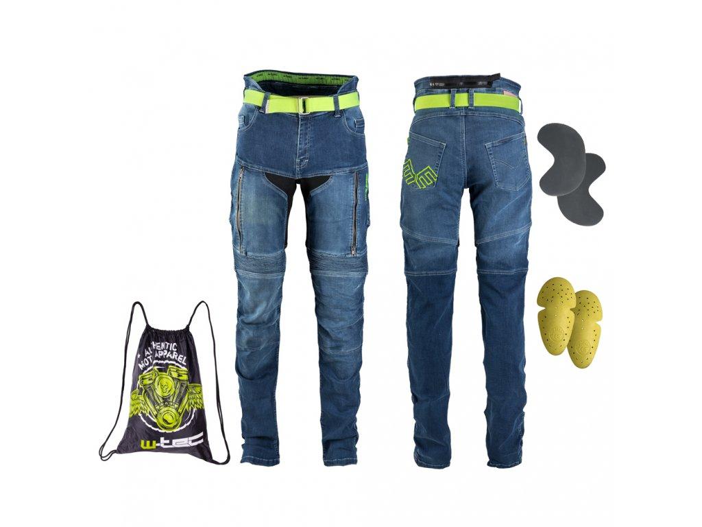 Dámské moto jeansy W TEC Ekscita 10
