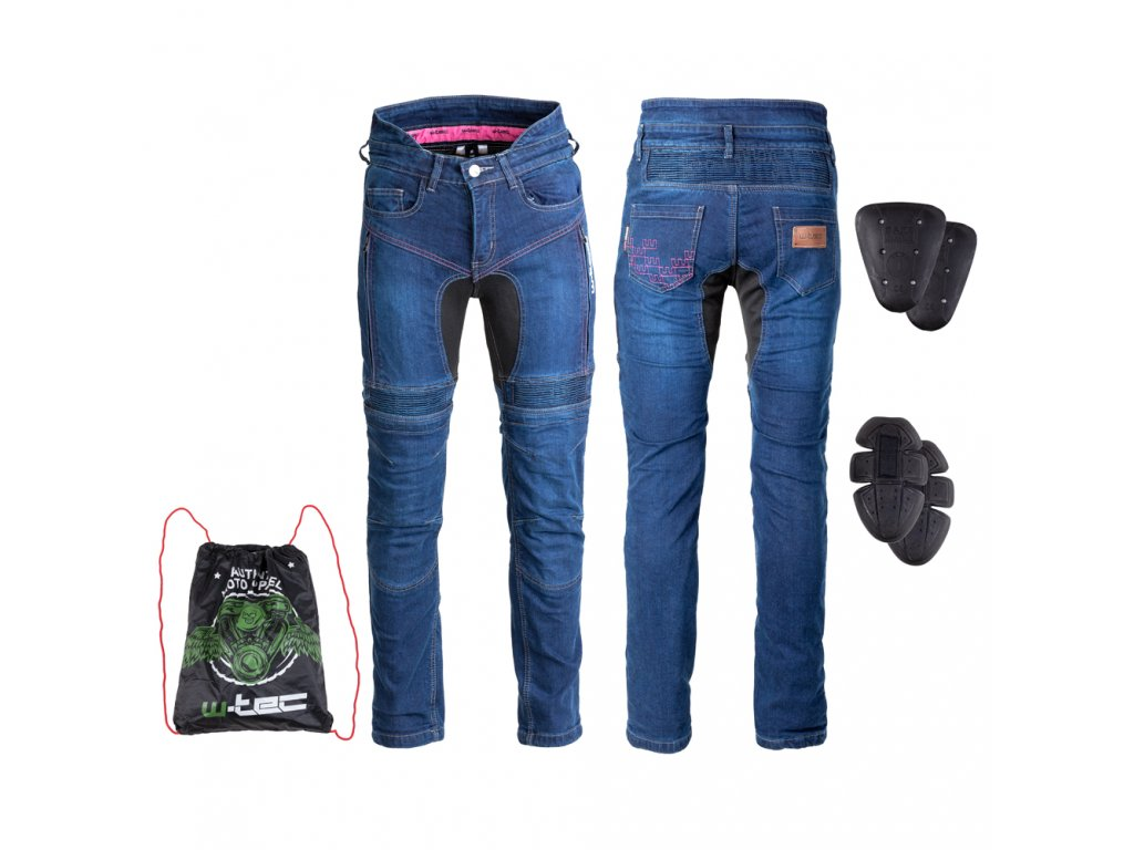 Dámské moto jeansy W TEC Biterillo Lady 08