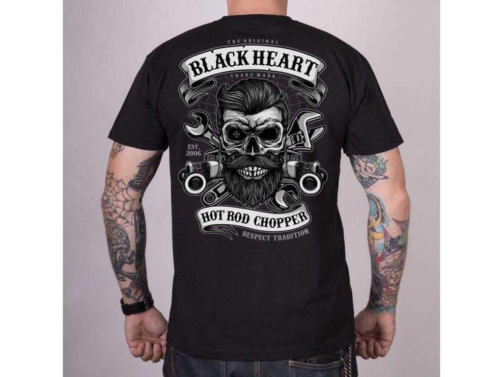 Triko black heart respect tradition
