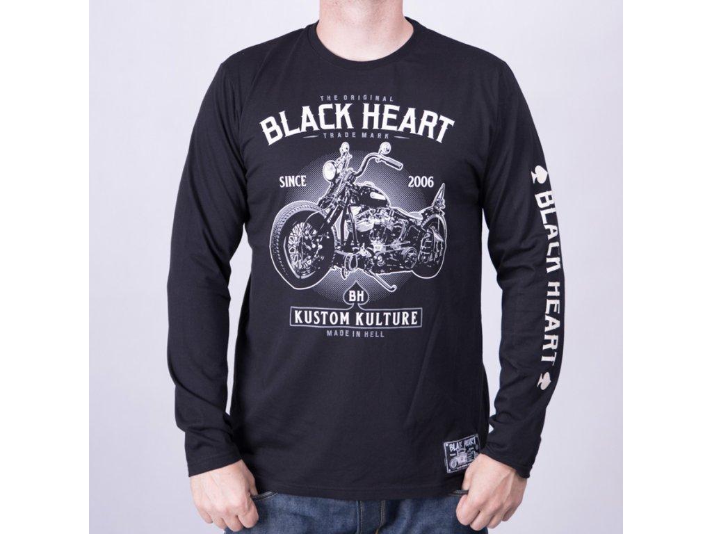 Triko BLQCK HEART MOTORCYCLE 3