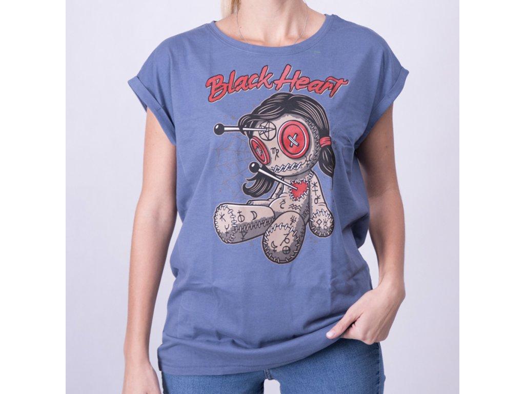 Triko black heart woodo doll ext4