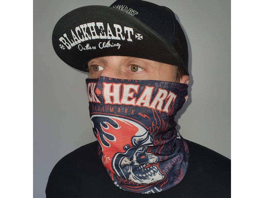nákrčník hatter black heart 22