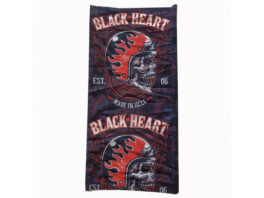 NÁKRČNÍKA BLACK HEART HATTER