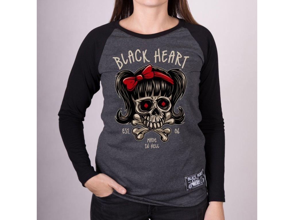 Triko BLACK HEART SANDY