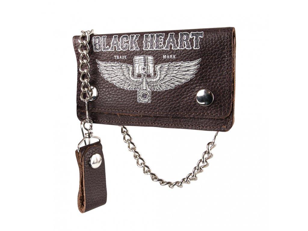 Peněženka Black Heart Rahakot Brown