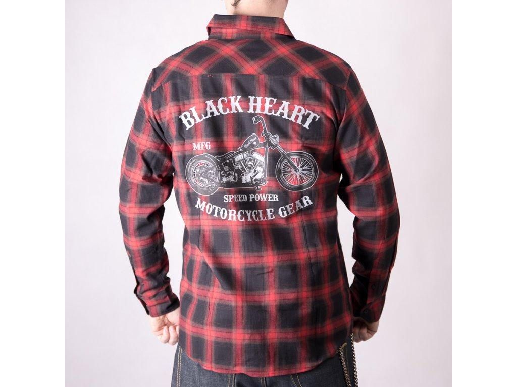košile black heart chopper 2