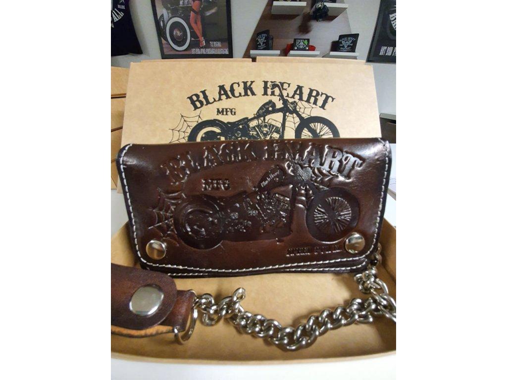peněženka black heart chopper
