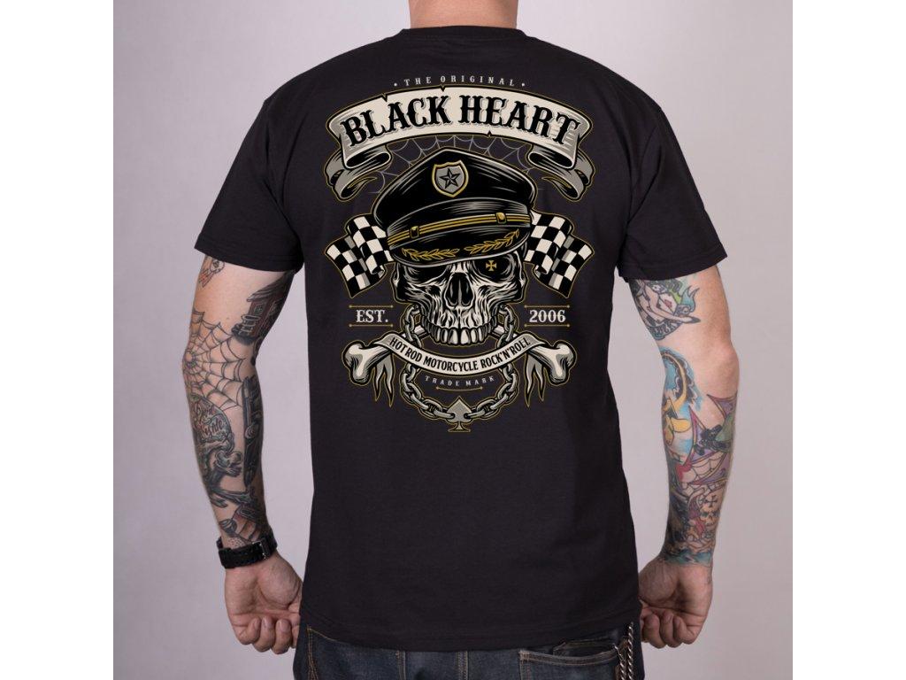 Triko BLACK HEART OLDSCHOOL RACER