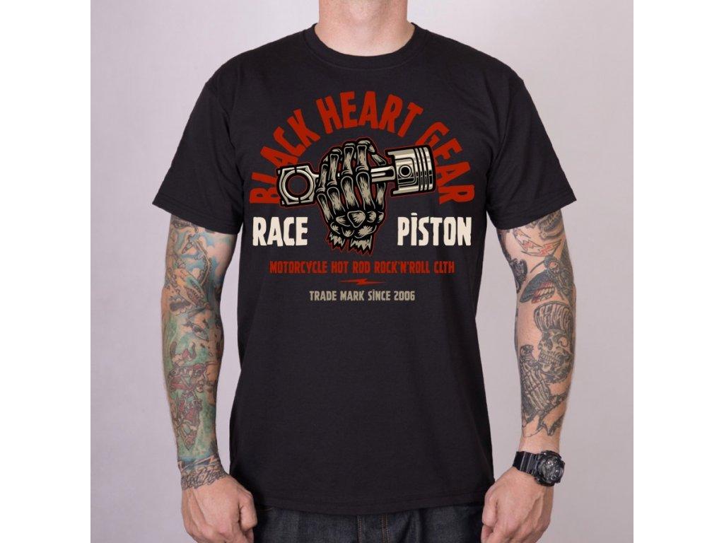 Pánské Triko BLACK HEART RACE PISTON