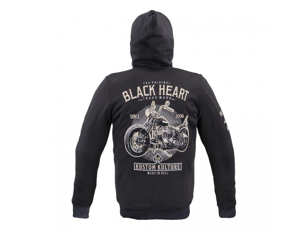 Pánská mikina W TEC Black Heart Kustom Kulture Hoodie (2)