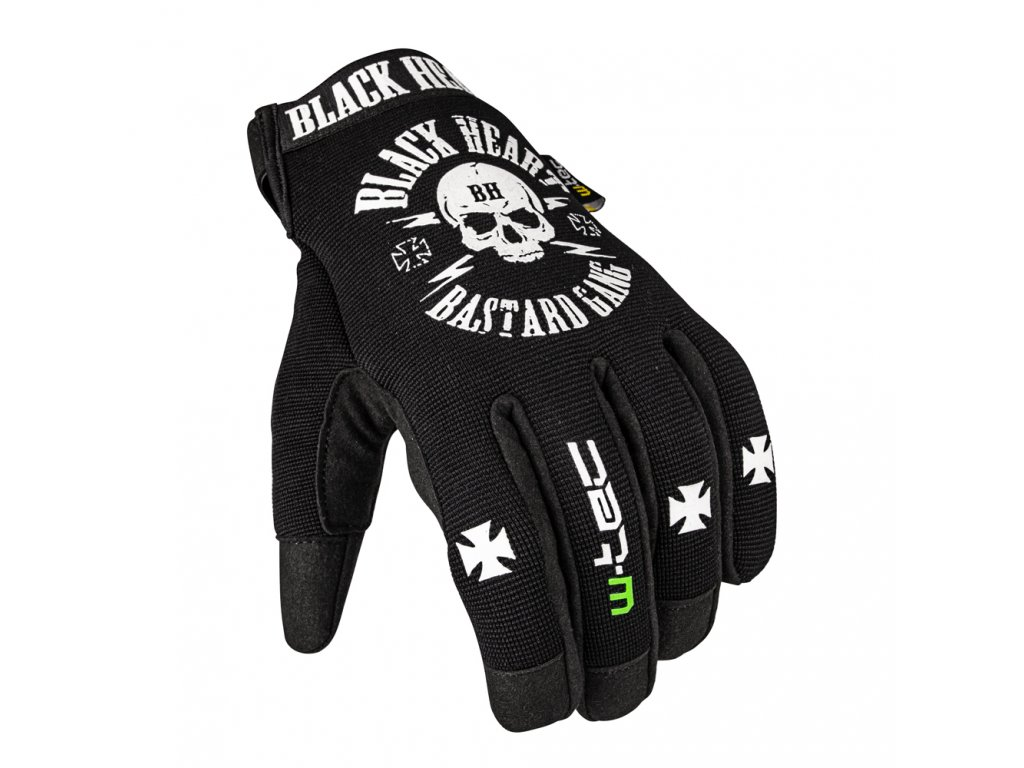 Moto rukavice W-TEC Black Heart Radegester
