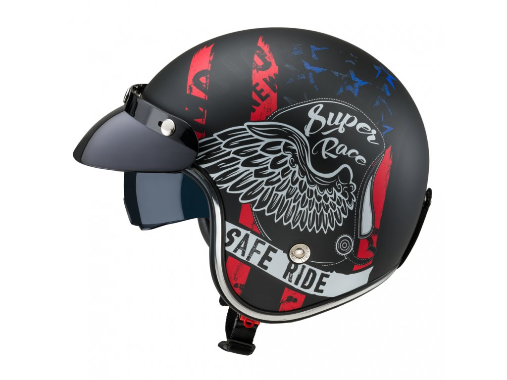 Moto přilba W TEC Café Racer 17 (1)