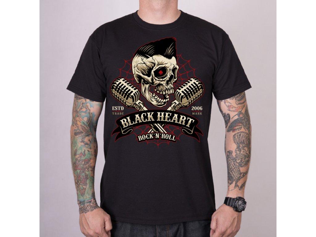 Triko BLACK HEART ELWIS