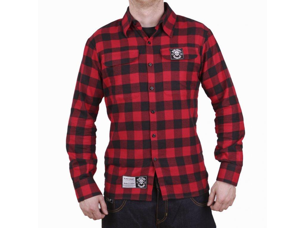 Košile dlouhý rukáv BLACK HEART Redneck